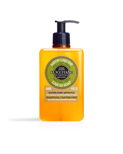 סבון נוזלי חמאת שיאה בניחוח וורבנה (אריזת חיסכון)