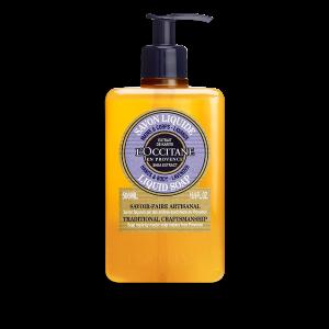סבון נוזלי חמאת שיאה בניחוח לבנדר (אריזת חיסכון)