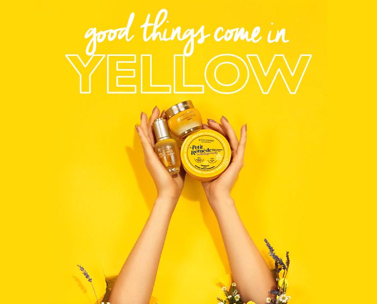 המוצרים הצהובים של ל'אוקסיטן